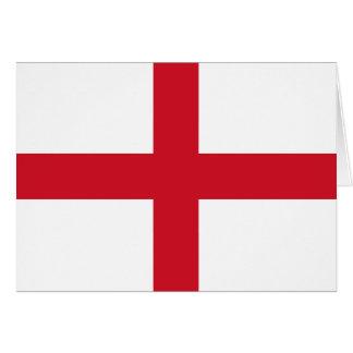 Drapeau de l'Angleterre Carte