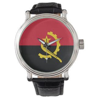 Drapeau de l'Angola Montres Bracelet