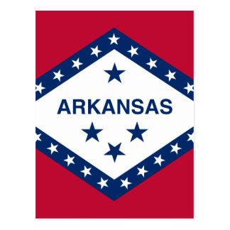 Drapeau de l'Arkansas Carte Postale