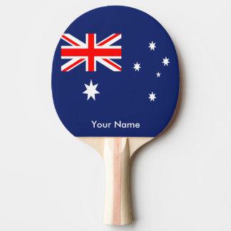 Drapeau de l'Australie Raquette Tennis De Table