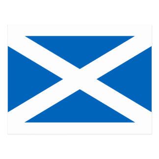 Drapeau de l'Ecosse - drapeau écossais Carte Postale
