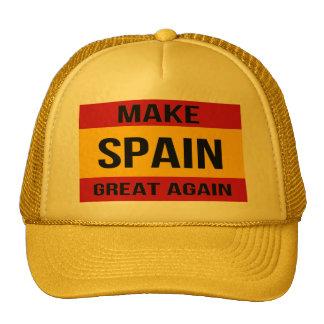 Drapeau de l'Espagne - rendez l'Espagne grande Casquettes De Camionneur