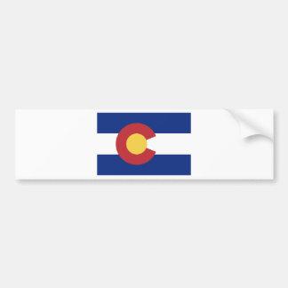 Drapeau de l'état du Colorado Autocollant De Voiture