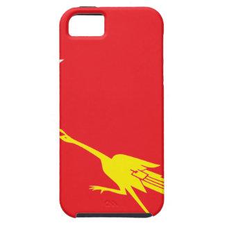 Drapeau de ligue nationale pour la démocratie coque tough iPhone 5