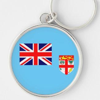 Drapeau de l'île fidji porte-clés