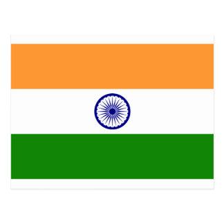 Drapeau de l'Inde - तिरंगा - भारतकाध्वज Cartes Postales
