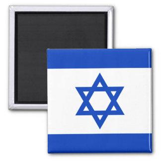 Drapeau de l'Israël Magnet Carré