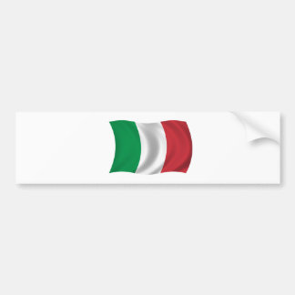 Drapeau de l'Italie Autocollant De Voiture