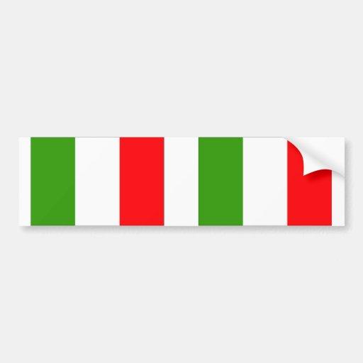 Drapeau de l'Italie Adhésif Pour Voiture