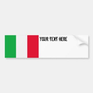 Drapeau de l'Italie Autocollant Pour Voiture