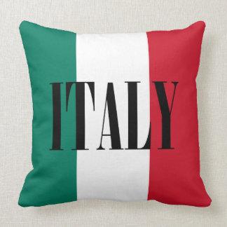 Drapeau de l'Italie Coussins Carrés
