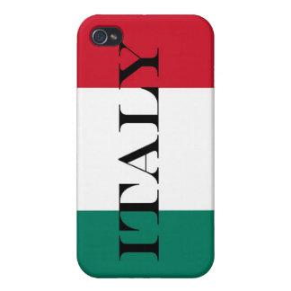 Drapeau de l'Italie Étuis iPhone 4