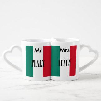 Drapeau de l'Italie Mug