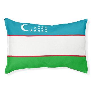 Drapeau de l'Ouzbékistan Lit Pour Animaux
