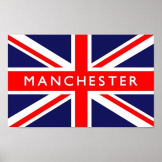 Drapeau de Manchester R-U