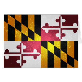 Drapeau de Marylander Carte