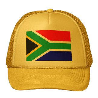 Drapeau de Nelson Mandela Afrique du Sud Casquettes