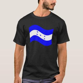 Drapeau de ondulation du Honduras T-shirt