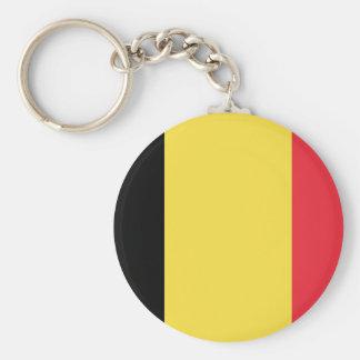 Drapeau de porte - clé de la Belgique Porte-clés