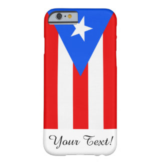 Drapeau de Porto Rico Coque iPhone 6 Barely There