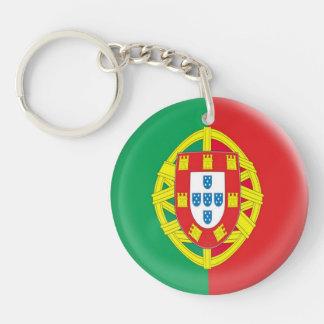 Drapeau de Portugais du Portugal de porte-clés