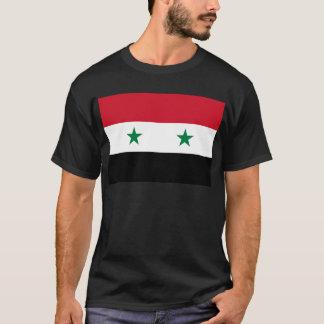Drapeau de République arabe syrienne - drapeau de T-shirt