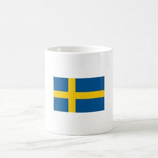 Drapeau de tasse de la Suède