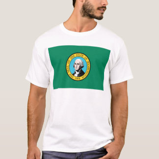 Drapeau de Washington T-shirt