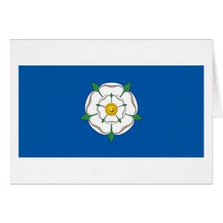 Drapeau de Yorkshire Carte