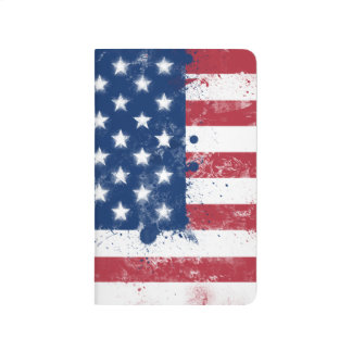 Drapeau des Etats-Unis Carnet De Poche