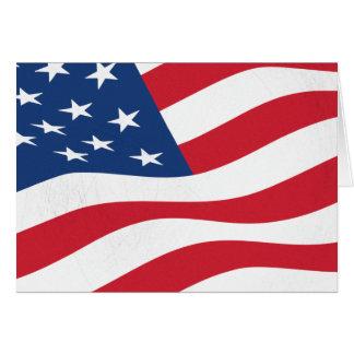 Drapeau des Etats-Unis Carte