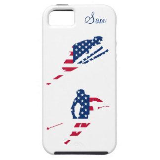 Drapeau des Etats-Unis d'Américain de ski de Étui iPhone 5