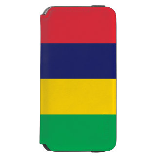 Drapeau des Îles Maurice Coque-portefeuille iPhone 6 Incipio Watson™