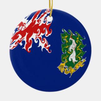 Drapeau des Îles Vierges britanniques Décoration De Noël