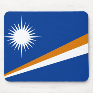 Drapeau des Marshall Islands Mousepad Tapis De Souris
