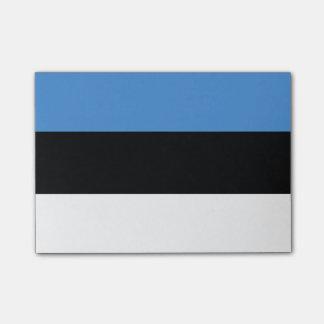 Drapeau des notes de Courrier-it® de l'Estonie