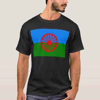 Drapeau des personnes Romani - drapeau Romani T-shirt