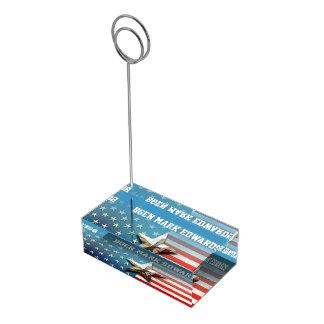 Drapeau des USA Porte-cartes De Table