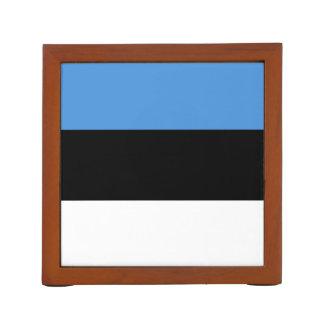 Drapeau d'organisateur de bureau de l'Estonie