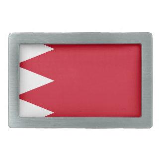 Drapeau du Bahrain Boucles De Ceinture Rectangulaires