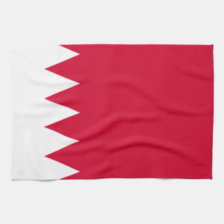 Drapeau du Bahrain Serviette Éponge