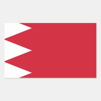 Drapeau du Bahrain Sticker Rectangulaire