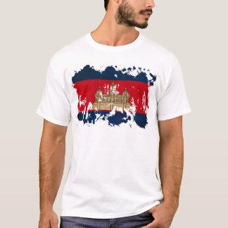 Drapeau du Cambodge T-shirt