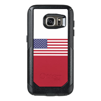 Drapeau du cas des Etats-Unis Samsung OtterBox Coque OtterBox Samsung Galaxy S7
