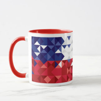 Drapeau du Chili, tasse chilienne de couleurs