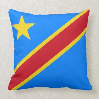 Drapeau du Congo - de la République démocratique Coussin