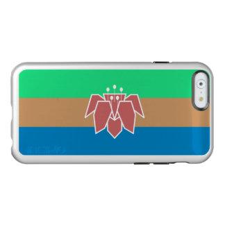 Drapeau du coque iphone argenté de Cantonia