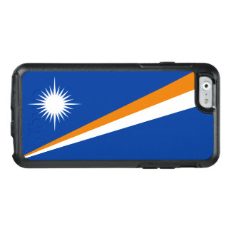 Drapeau du coque iphone des Marshall Islands