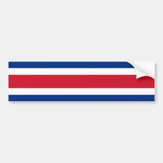 Drapeau du Costa Rica, Costa Rica Autocollant De Voiture