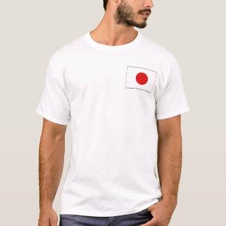 Drapeau du Japon et T-shirt de carte